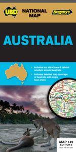 Australia Map 149 5th ed