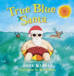 True Blue Santa