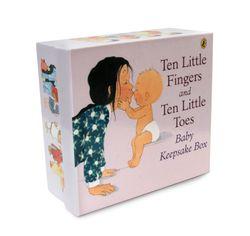 Ten Little Fingers And Ten Little Toes Keepsake Box