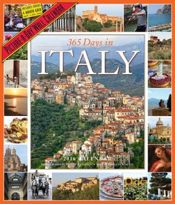 365 Days in Italy Picture-A-Day Wall Calendar