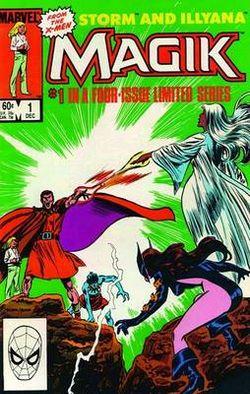 X-men: Magik - Storm & Illyana