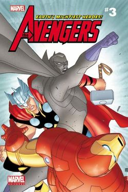 Marvel Universe Avengers Earth's Mightiest Comic Reader 3