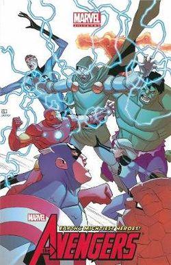 Marvel Universe Avengers Earth's Mightiest Heroes Volume 4