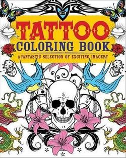 Tattoo Coloring Book By Patience Coster Angus Robertson Books