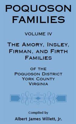 Poquoson Families, Volume IV