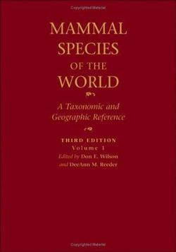 Mammal Species of the World: 2-vol. set