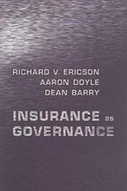 Insurance as Governance