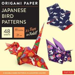Origami Paper : Japanese Bird Patterns 17cm