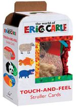 Eric Carle : Touch-and-Feel Stroller Cards