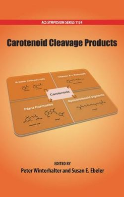 Carotenoid Cleavage Products
