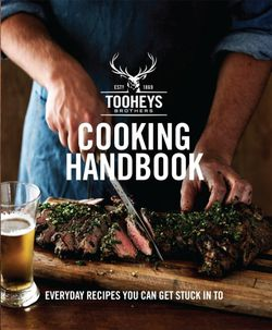 Tooheys Cooking Handbook
