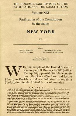 Ratification of the Constitution by the States, New York: v. 3