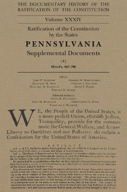 The Documentary History of the Ratification of the Constitution