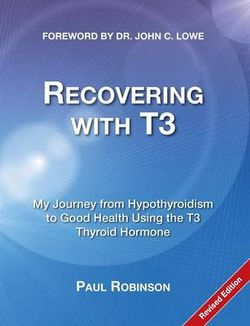 Recovering with T3
