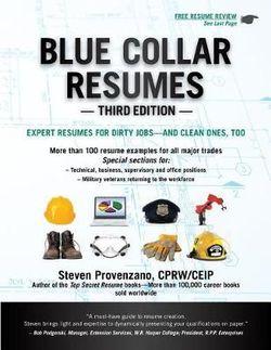 Blue Collar Resumes, Third Edition
