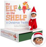 The Elf on the Shelf Boy Dark Doll with Book
