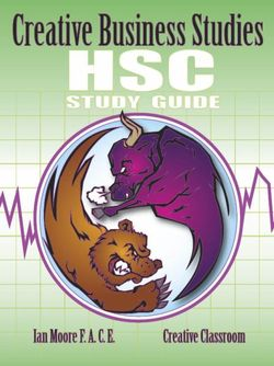 Creative Hsc Business Studies Study Guide