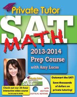 Private Tutor - Your Complete SAT Math Prep Course