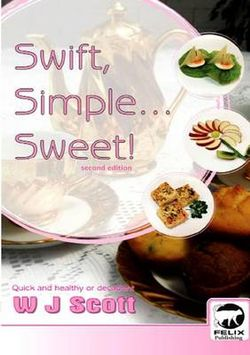 Swift, Simple, Sweet!