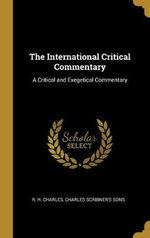 The International Critical Commentary