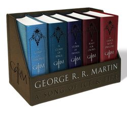 George R. R. Martin's A Game of Thrones Leather-Cloth Boxed Set