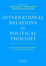 International Relations in Political Thought