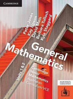 CSM VCE General Mathematics Units 1 and 2 Print Bundle (Textbook and Hotmaths)