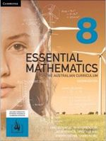 Essential Mathematics for the Australian Curriculum Year 8 2ed Print Bundle (Textbook and Hotmaths)