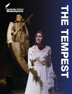 Cambridge School Shakespeare: The Tempest