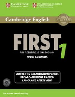 Cambridge English First 1 for Revised Exam from 2015 Student's Book Pack (Student's Book with Answers and Audio CDs (2))