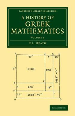 A History of Greek Mathematics: Volume 1