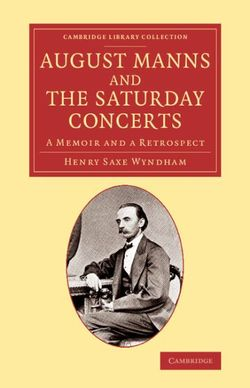 August Manns and the Saturday Concerts