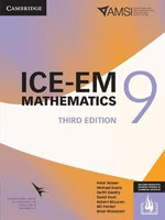 ICE-EM Mathematics 3ed Year 9 Print Bundle (Textbook and Interactive Textbook)