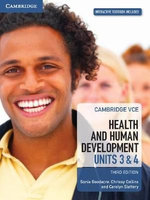 Cambridge VCE Health and Human Development Units 3 and 4 Pack (Textbook and Interactive Textbook)