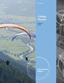College Physics, International Edition
