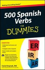 500 Spanish Verbs For Dummies