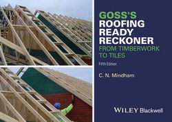 Goss's Roofing Ready Reckoner - From Timberwork Totiles 5E