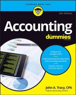 Accounting for Dummies, 6th Edition