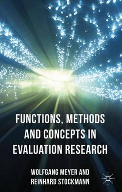 Functions, Methods and Concepts in Evaluation Research