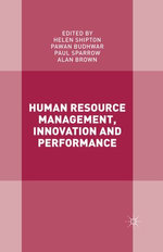 Human Resource Management, Innovation and Performance