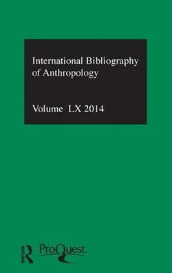 IBSS: Anthropology: 2014 Vol.60