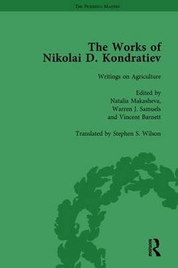 The Works of Nikolai d Kondratiev Vol 3