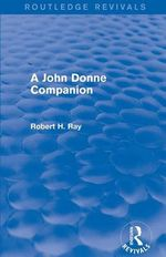 A John Donne Companion