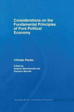 Considerations on the Fundamental Principles of Pure Political Economy