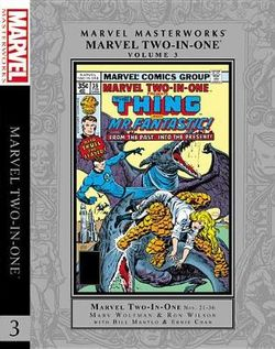 Marvel Masterworks: Marvel Two-In-one Vol. 3