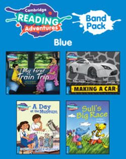 Cambridge Reading Adventures: Cambridge Reading Adventures Blue Band Pack of 9