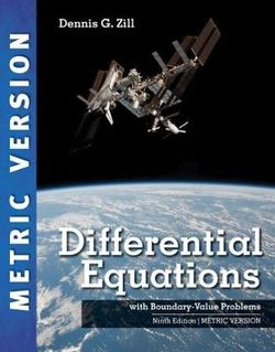 Differential Equations with Boundary-Value Problems, International Metric Edition