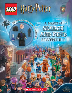 Search and Find with Snape Minifigure
