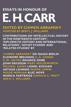 Essays in Honour of E. H. Carr