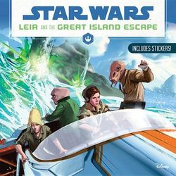 Star Wars Leia and the Great Island Escape